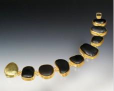 Basalt bracelet