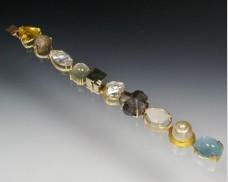 Mixed mineral bracelet