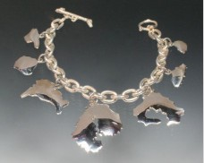 Great Harbor charm bracelet