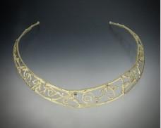 Twig neck collar elegant