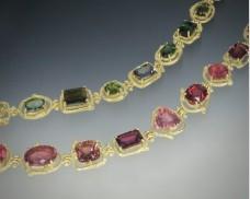 Medium-link tourmaline bracelet